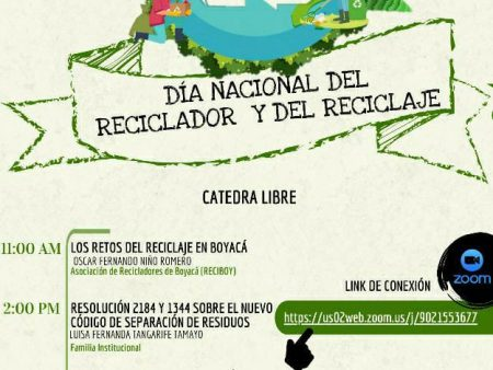 Jornada Día Nacional del Reciclador y del Reciclaje